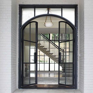 Residential Architectural Steel and Glass Door